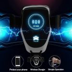 Draadloze Fast Charger Auto Carkit 1