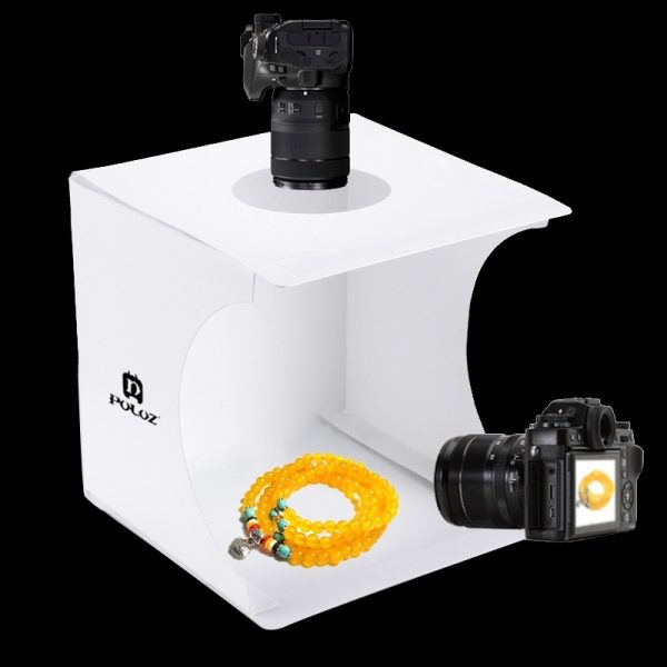 Mini Fotostudio met Dual LED-licht 3