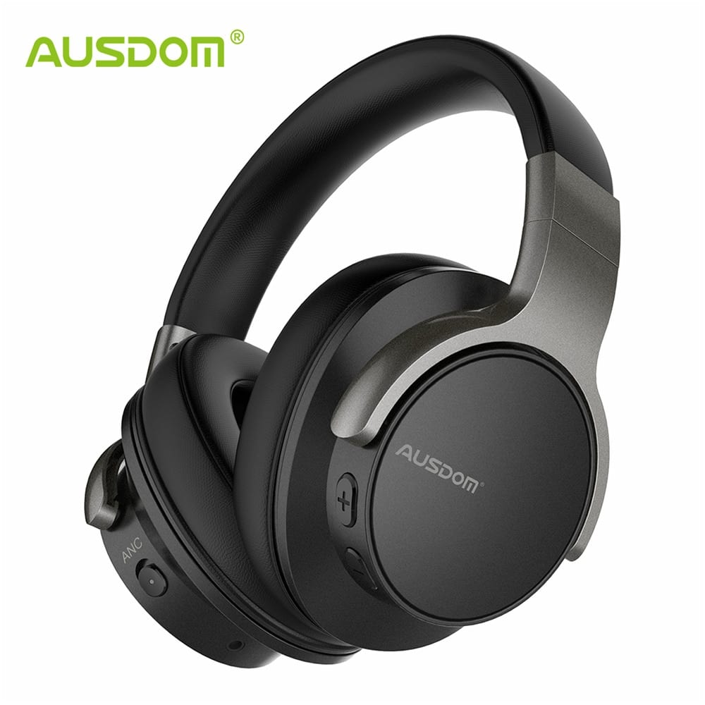 Ausdom ANC8 Wireless Bluetooth Koptelefoon met HiFi Deep Bass